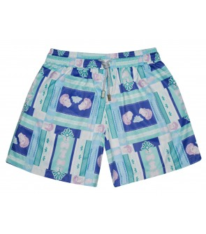 mens swim trunk italy inspiration geometric